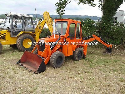 Kubota mini digger tractor photo 6x4
