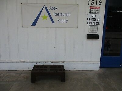 """Plastic Dunnage Rack 36"""" x 21"""" Commercial Restaurant Storage #3361"""