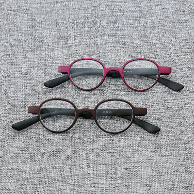 331d1e62e91 Small Round Vintage Reading Glasses Spring Hinge Readers 1.0 1.5 2.0 2.5  3.0 3.5