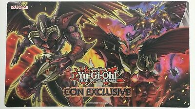 Yu-Gi-Oh! Extravaganza Con Exclusive Red Dragon Archfiend Hot Red Playmat