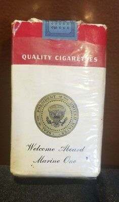 RARE L&M Unopened Filter Kings Soft Pack - WELCOME ABOARD MARINE ONE - POTUS
