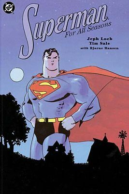 SUPERMAN FOR ALL SEASONS DC 1999 GRAPHIC NOVEL PAPERBACK 1st printing