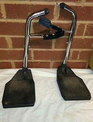 Pair of Wheelchair Footrests