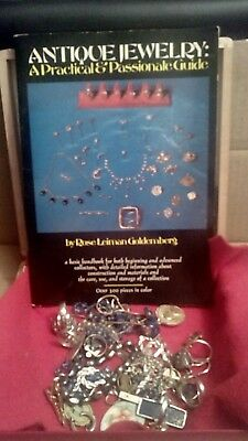Vintage to Jewelry lot necklaces earrings pins bracelets rings & more