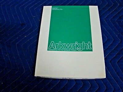 Arkwright Color Inkjet Printer Transparency Film- 50-Pk