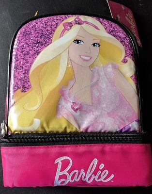 Barbie Lunchbox Insulated with 2 compartments Lunch Box