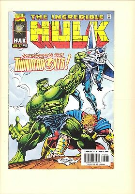 The Incredible Hulk #449 (Jan 1997, Marvel), NM, 1st appearance Thunderbolts