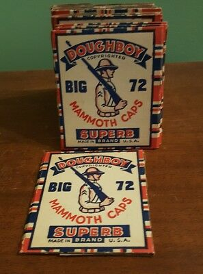 Vintage Doughboy Superb Mammoth Caps package