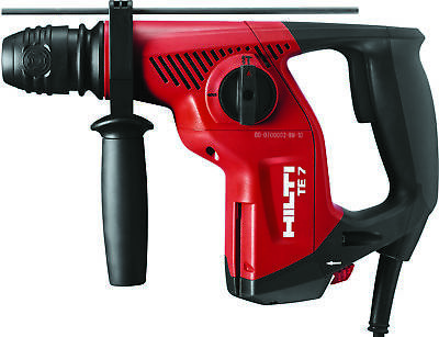 Hilti Te 7 - Corded Rotary Hammer Drill - Performance Package - #3497792 - New!