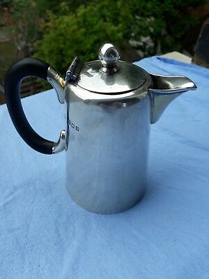 Solid Sterling Silver Pot London 1934