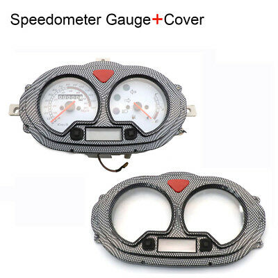 GY6 50-150cc Scooter Speedometer Gauge + Lens Cover For Vento Keeway CPI B08 B09