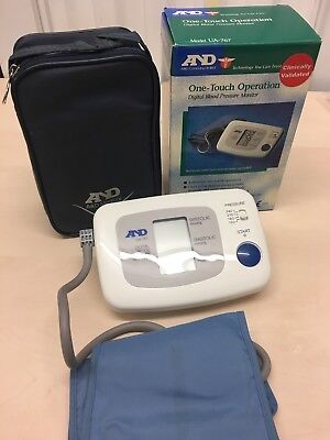 A&D Digital Blood Pressure BP Monitor UA767