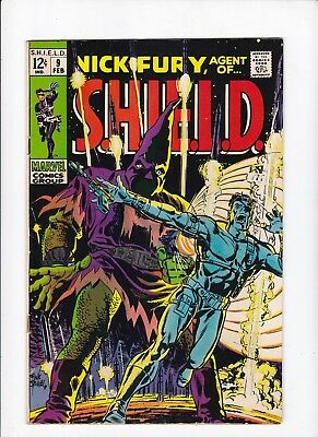 Nick Fury, Agent of SHIELD 9 2nd App of Hate-Monger Silver Age GD/VG  Lot of 1