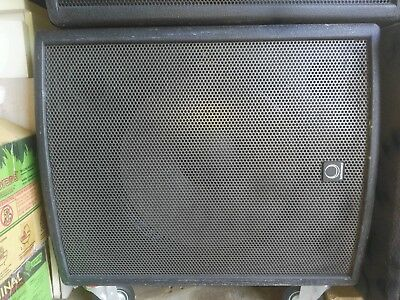 "Turbosound TXD-118 Subwoofer 18"" speaker 600 watts RMS  8 ohms Excellent Conditi"