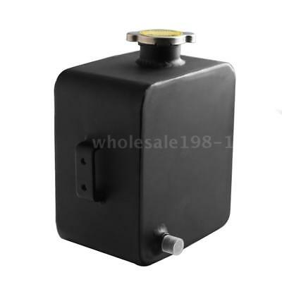Universal 2L Aluminium Water Coolant Header Overflow Expansion Recovery Q3I5