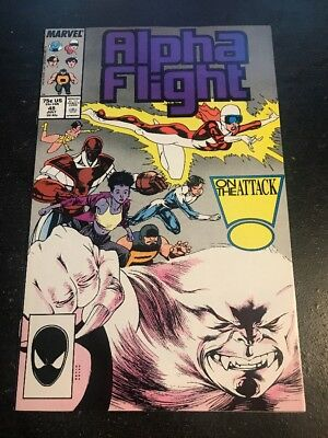 Alpha Flight#48 Incredible Condition 9.2(1987)