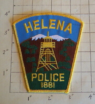 Helena (MT) Police Department Patch  -  1881       ***NEW***