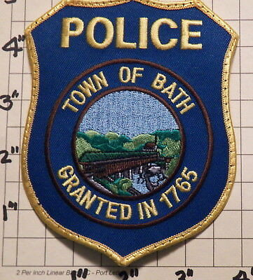 Bath (NH) Police Department Patch
