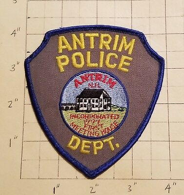 Antrim (NH) Police Department Patch