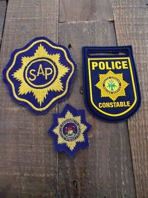 Obsolete/Defunct South Africa Police Metal Cap Badges & Patches