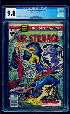 Dr. Strange Annual 1 Cgc 9.8 ** White Pages ** Hot Doctor Strange Book!!