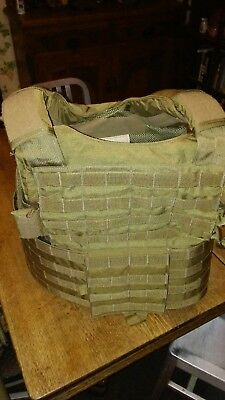 Eagle industries plate carrier Ciras Land Extra Large XL Coyote Brown