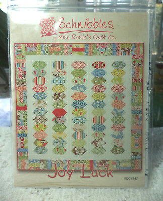 "Schnibbles By Miss Rosie's Quilt Co. Quilt Pattern ""joy Luck""~Charm Quilt"