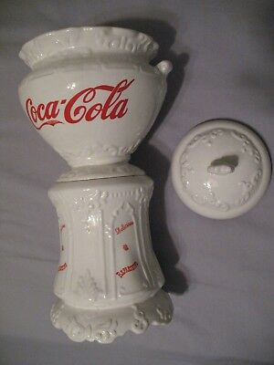 Coca Cola Victorian Vintage Antique Cookie Jar
