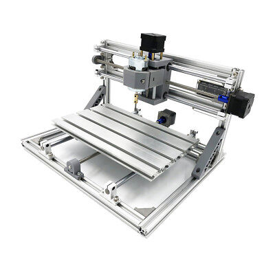 3018 3 Axis Mini DIY CNC Router Standard Spindle Motor Wood Engraving Cutting