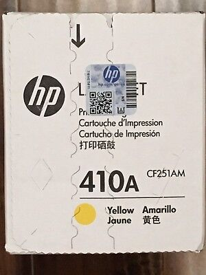 Genuine HP 410A Yellow Toner Cartridge CF251AM  - Free and Fast Shipping !