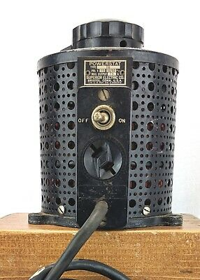 Vintage Superior Electric Powerstat 116 Auto Transformer