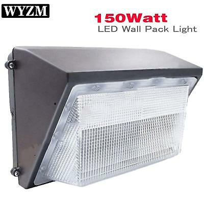 125W 150Watt LED Wall Pack Commercial Light w/ Dusk to Dawn Sensor (Photocell)