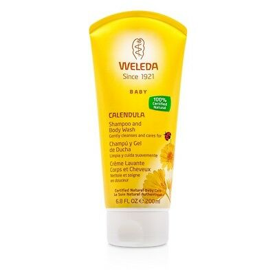 Weleda Baby Calendula Shampoo & Body Wash 200ml Skin Care