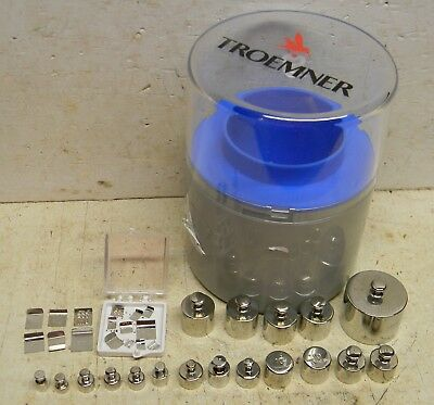 Troemner Calibration Weight Set 5 mg to 100 g Stainless