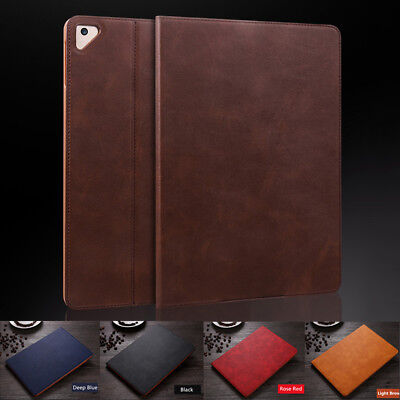 "For iPad 9.7 2018/ 2017 Pro 10.5""/Mini 4 3 2 Ultra thin Leather Smart Cover Case"