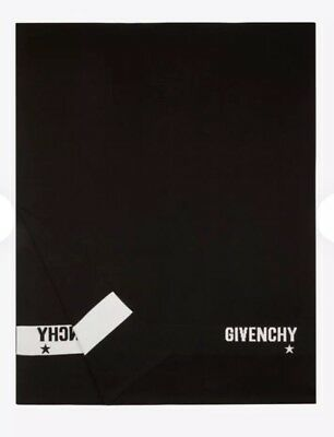 Authentic Givenchy Black White Wool Scarf 2018