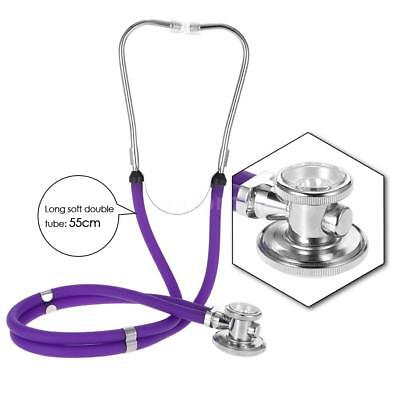 Professional Safety durable Double Head Cardiology Diaphragm Stethoscope L9F7