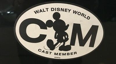 Walt Disney World Cast Member Exclusive Car Magnet