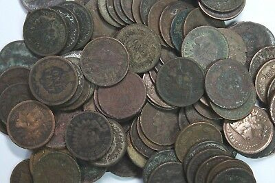 100 Indian Head Cent Lot (Mixed dates & conditions)