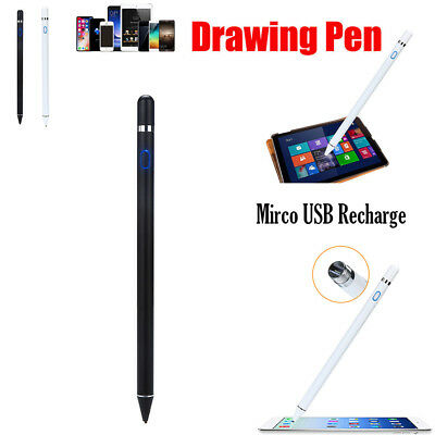 Rechargeable Capacitive Active Screen Stylus Pen Drawing Pen For iPad Tablet
