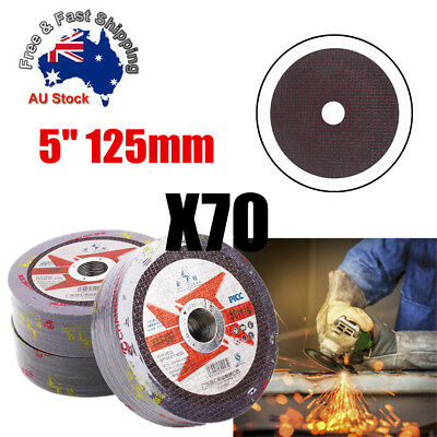 125mm CUTTING DISC WHEEL ANGLE GRINDER THIN CUT OFF METAL STEEL STAINLESS 1.2mm