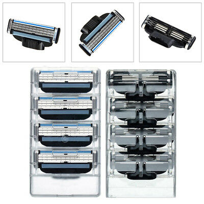 Mens Shaving Razor Blades Replacement Refills For Gillette Mach 3