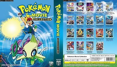 Anime DVD Pokemon 19 in 1 Movie Collection - BRAND NEW