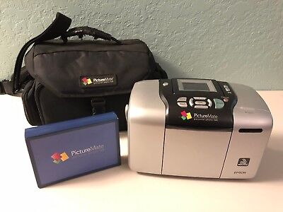 Picturemate Personal Photo Lab Epson 240 Missing Power Cord 2200