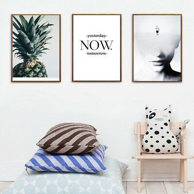 Modern Abstract Canvas Print Painting Picture Mural Wall Hanging Home Decor