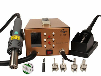 New 100-450℃ DM-850DS LCD Digital Hot air disassembly Soldering Station Sets