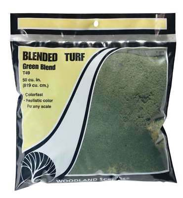 Woodland Scenics T1349 Ws Green Blended Turf