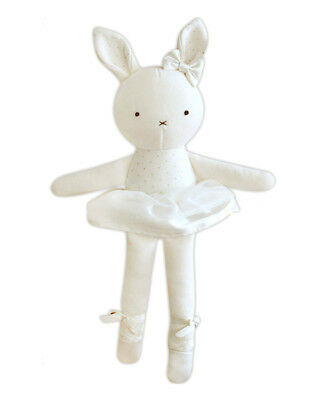 Ballerina Organic Stuffed Animals Soother Natural Cotton Baby Toddler Doll Toy