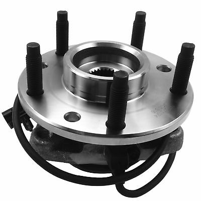 Wheel Hub Bearing Front Left/Right Assembly 6 Lug for Chevy Cadillac GMC 4WD V8