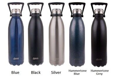 Oasis Double Walled Vacuum Insulated Stainless Steel Water Drinks Bottle 1.5L